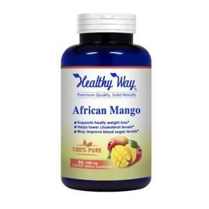 Best African Mango Cleanse - Extra Strong Pure 100% Fat Burner Fat Weight Loss D