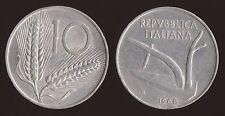 10 LIRE 1968 SPIGHE E ARATRO - ITALIA