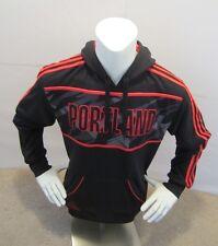Adidas Men Portland Trail Blazers NBA Hoodie Reg $85 Sz Medium Black/Red 271FA