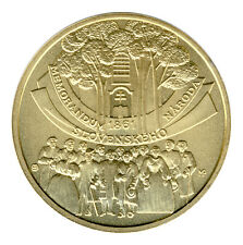 SLOWAKEI - 10 Euro 2011 - MEMORANDUM - SILBER - vergoldet (8676/197)