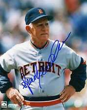 "SPARKY ANDERSON Detroit Tigers pp SIGNED 8""x10"" Photo RIP"