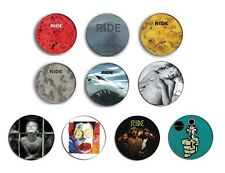 RIDE nowhere, going blank again, carnival of light pin pinback button BADGE SET
