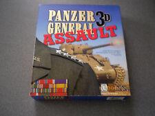 Panzer General 3D Assault    WIN 95/98  NIB    Big Box