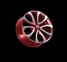 "Nissan Juke F15 Genuine Car 17"" Alloy Wheel Aluminium Alu Force Red KE4091K200RD"