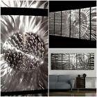 Brillant Metal Wall Art - Silver Modern Abstract Dynamic Design By Jon Allen