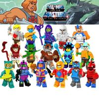 LOT DE 16 FIGURINES LES MAÎTRES DE L'UNIVERS HE-MAN