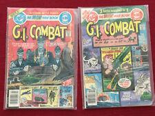 GI Combat 221 And 240.  DC Comics