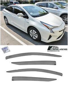 For 16-Up Toyota Prius / Prime MUGEN Tape-On Side Window Visors Rain Deflectors