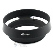 Camera Lens Hood 46mm Tilted Vented for Leica M Summicron, free US shipping