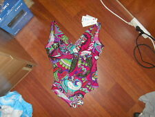 Tyche Hugo One-Piece Swimsuit France Size 4 - Floral Print
