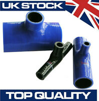 Silicone Hose T Piece Internal Diameter 35mm x 35mm x 8mm Tee Connector - Blue