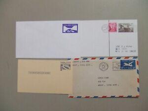 Four Canal Zone postal stationery