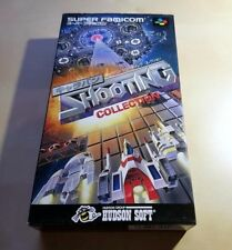 SFC Shooting Collection 2D-Shooter SHMUP JAPAN NTSC Super Nintendo Famicom