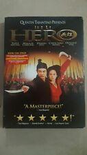2004 Dvd Jet Li Hero Brand New Factory Sealed! Plus Bonus Features!
