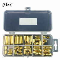 50-piece Fishing Weights, Copper Fishing Sinker, Fishing Accessories Tackle Box