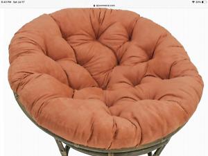 Papasan Chair Cushion Terracotta/Spice