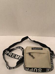 Beige Crossbody Supreme Shoulder SS18 Messenger Bag