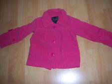 Manteau rose vif fille 5 ANS