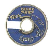 25 M fil Nylon Water Queen Kroic GT Gold Ø 16 2.5 Kgs peche Truite ou au Coup