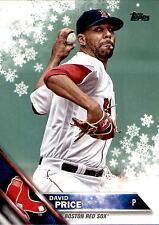 2016 Topps WalMart Holiday Snowflake #HMW56 David Price > Boston Red Sox