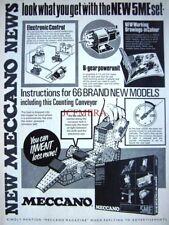 1971 MECCANO Advert '5ME Set' Motorised Counting Conveyor - Vintage Print Ad