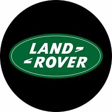 4x4 Spare Wheel Cover 4 x 4 Camper Graphic Vinyl Sticker Land Rover Logo AA165