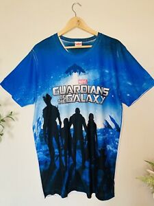MARVEL GUARDIANS OF THE GALAXY Men's Size XL All Over Print T Shirt Top