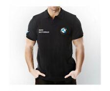 Bmw MotorRad Polo Neck Short Sleeve T-Shirt - Motorrad