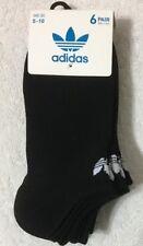 Adidas Women's  Lite  6-Pair No Show Socks  Black   (1891)