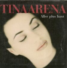 CD SINGLE 2 TITRES--TINA ARENA--ALLER PLUS HAUT--1999