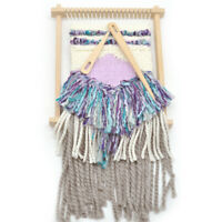 5pcs Wooden Weaving Loom Tools Big Eye Tapestry Darning Knitting Needlework DIY