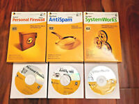 2005 Norton SystemWorks AntiSpam Personal Firewall (Disc, User Guide, Box)