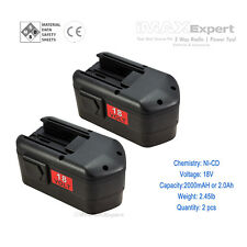 2 x NEW 18Volt  BATTERY for MILWAUKEE 48-11-2230 48-11-2200 48-11-2232