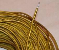 Fil cuivre étamé isolé coton tressé vernis rigide 16AWG - Western Electric Gold