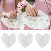1000 Weiß Künstliche Blütenblätter Rosenblätter Rosenblüten Hochzeit Party Dekor
