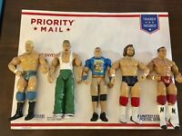 WWE WWF Wrestling Action Figure Lot Of 5 Random Wrestlers