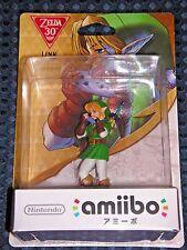 NEW Nintendo Switch Wii U amiibo Legend of Zelda Link Ocarina of Time JAPAN F/S