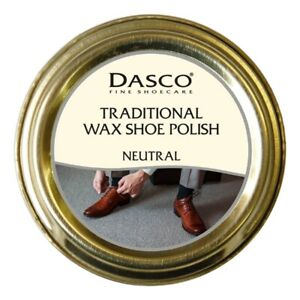 Dasco Traditional Wax Shoe Polish Boot Polish Neutral