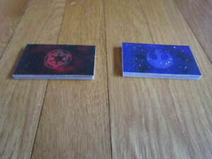 Star Wars Monopoly Trilogy Edition 1997 REBEL/IMPERIAL CARDS Replacement Pieces
