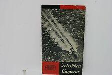 Rare - Zeiss Ikon Contax II IIA Contaflex Ikonta Camera Brochure - 19 Pages