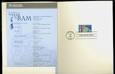 USA #3747 2003 37c Lunar New Year of the Ram Stamp First Day Ceremony Program