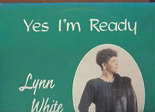 LYNN WHITE - Yes I'm Ready - WAYLO 80s soul funk LP  NICE NM  Willie Mitchell