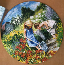 Bits And Pieces Jigsaw Puzzle - Where the Butterflies Go - 300 Pieces - Complete