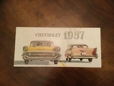 ¤¤ Catalogue gamme CHEVROLET 1957 ¤¤ BEL AIR  /  NOMAD /  TWO-TEN / ONE-FIFTY