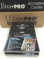 Ultra Pro Platinum 9 Pocket Pages Factory box (100) x 2 -Best for NRL Cards