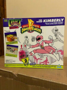 Toymax VTG 1994 Creepy Crawlers Mold Pack Power Ranger Kimberly Pink Ranger NIB