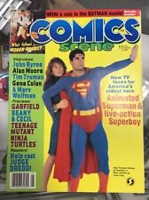 Comics Scene Magazine 1988 #5 Animated Superman & Live-Action Superboy