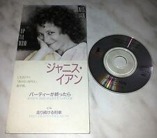 "CD JANIS IAN - WHEN THE PARTY'S OVER - TODP-2399 - JAPAN 3"" INCH - SINGLE"