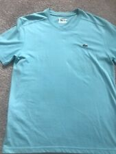 Lacoste Mens T-Shirt Crew Neck Short Sleeve 100% Cotton Medium