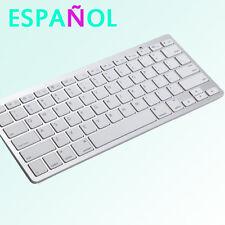Teclado en Español Por Bluetooth Ultra fino de 78 Teclas Windows / Android / iOS